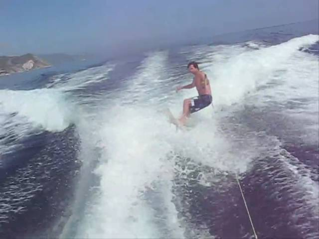 Jeff Wake Surfing