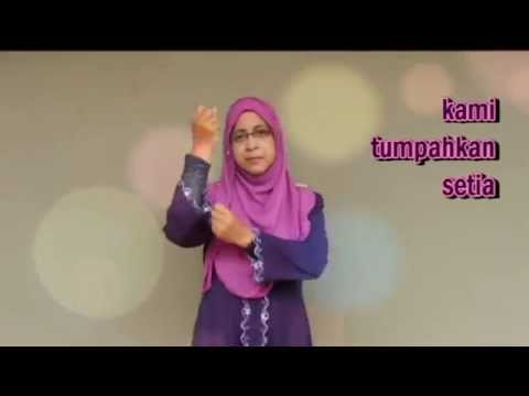 LAGU GURU MALAYSIA VER BAHASA ISYARAT