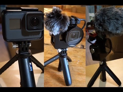 GoPro Hero 6 - VLOGGING SETUP/AUDIO FIX