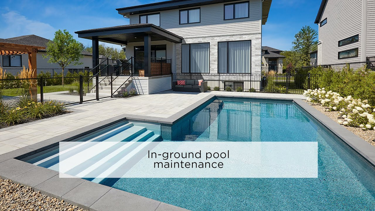 In-ground pool maintenance