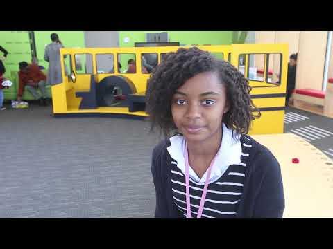 Angelique Latham, Whitehall Yearling High School senior and VolunTeen