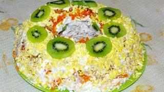 Салат Малахитовый браслет. Рецепты вкусных слоеных салатов