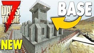 New Zombie Swarm Base Defense Crafting Base Building Update 19 | 7 Days To Die Multiplayer Gameplay
