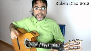 Tips for Picado (to strengthen right hand / b3ths) Ruben Diaz Flamenco Guitar Lessons CFG  Malaga