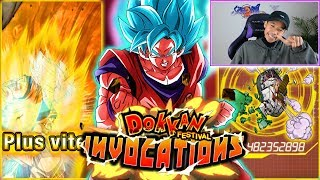Fusion garantie ! Invocations Goku Kaioken Dokkan Festival, let