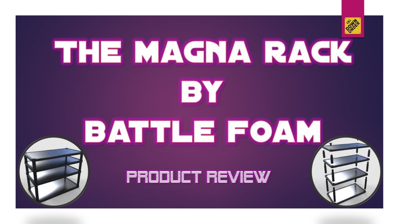 Battle Foam Magna Rack Review Youtube The force acting on an electrically charged particle in a magnetic. battle foam magna rack review