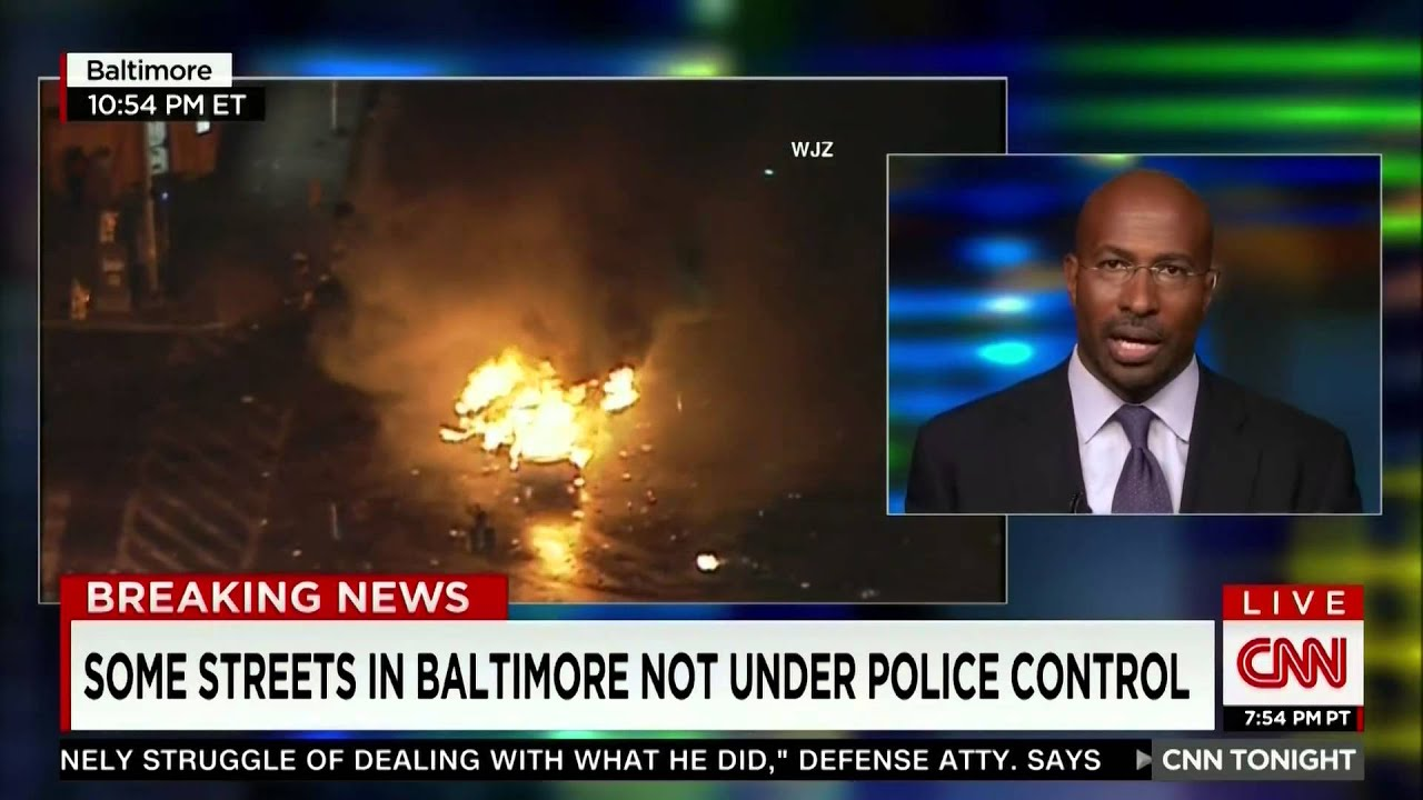 CNN World News Picture: CNN Breaking News: Van Jones -- State Of Emergency In