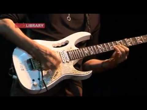 Steve Vai Performing The Trooper (Iron Maiden)