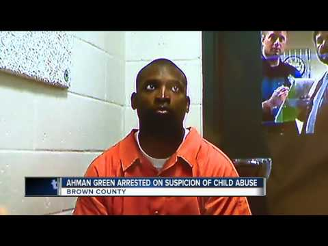 Ahman Green charged with child abuse