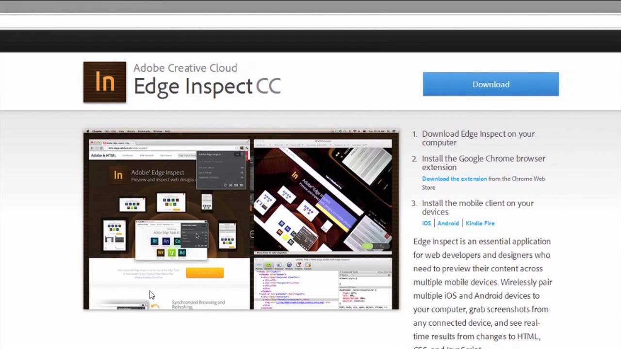 Web Accessibility 101: Using Adobe Edge Inspect