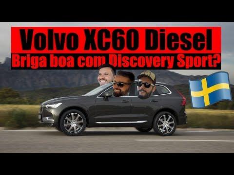LANÇAMENTO VOLVO XC60 DIESEL - Briga boa com Discovery Sport? / VRUM BRASÍLIA