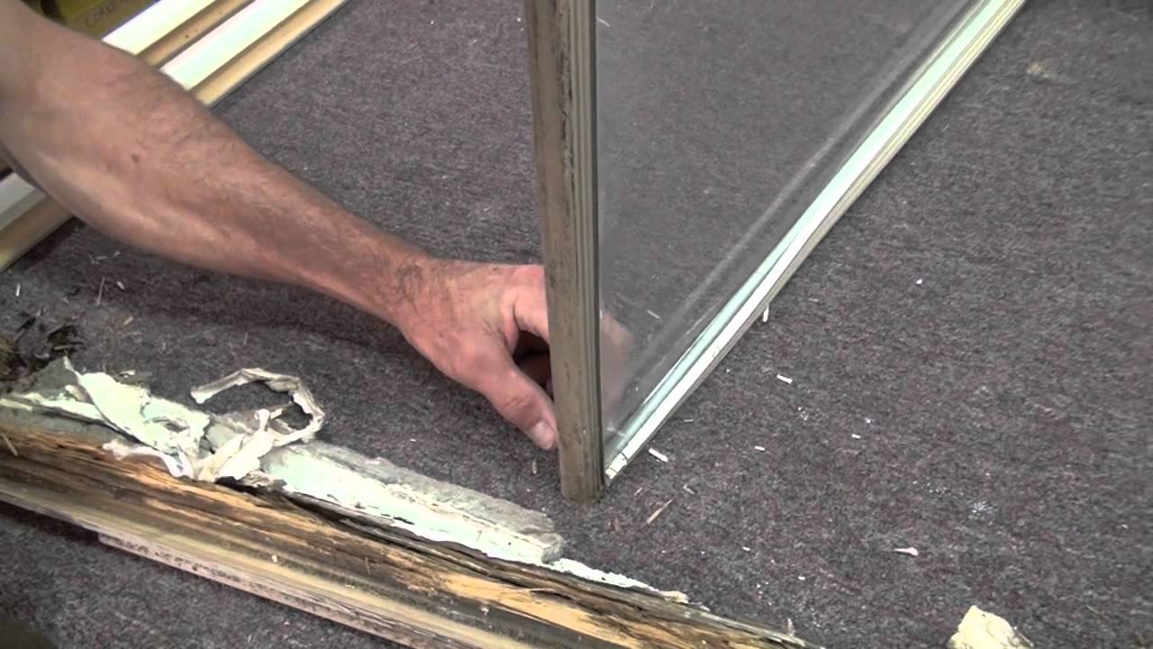 How To Replace The Rotten Wood On A Window Sash   YouTube
