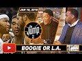 T Mac   Pippen Debate DeMarcus Or Aldridge Should Start In All Star Game   The Jump   Jan 18  2018