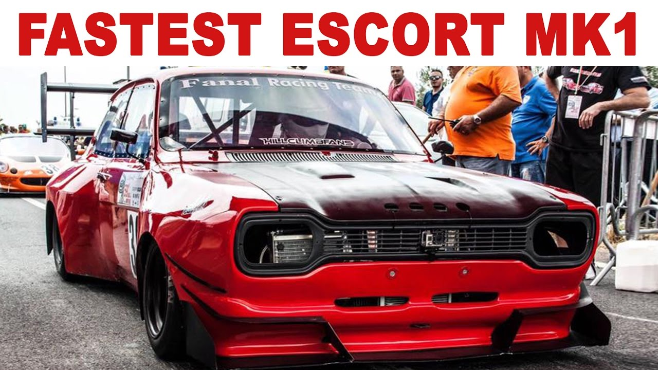 The fastest ford escort mk1 beats porsche gt3 youtube