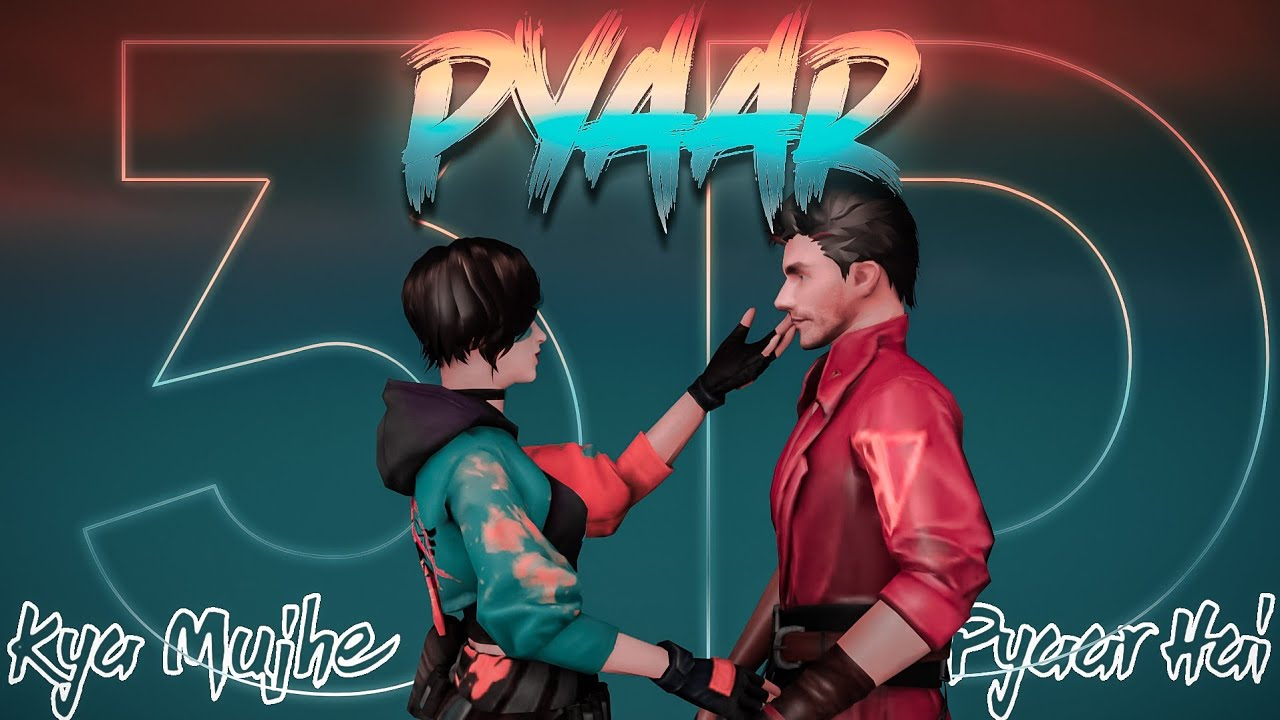 KYA MUJHEY PYAAR HAI 3D song Montage | 3D FreeFire Best Edited Beat Sync Montage GOD OF GARENA