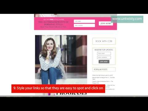 Video Website Review - sample