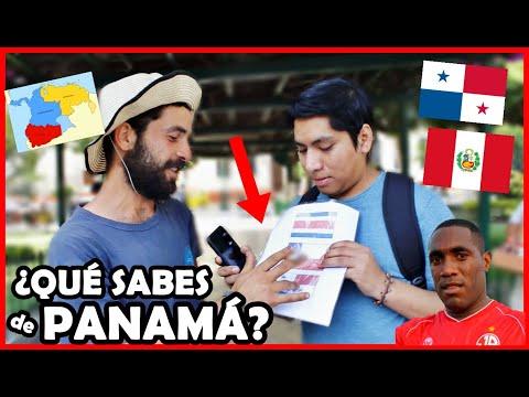 ¿Qué Piensan De PANAMÁ 🇵🇦 Los Peruanos 🇵🇪? ¿Existe? Test De Geografía | El Peruvian