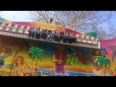 Indians In The  Armenian Lunapark