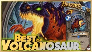 Hearthstone - Best of Volcanosaur - Funny and lucky Rng Moments