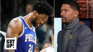 Joel Embiid's dwindling energy due to conditioning - Jalen Rose | Get Up!