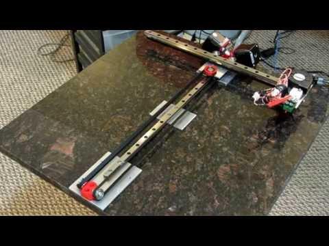 Inside-H: Modified H-Bot Belt Drive