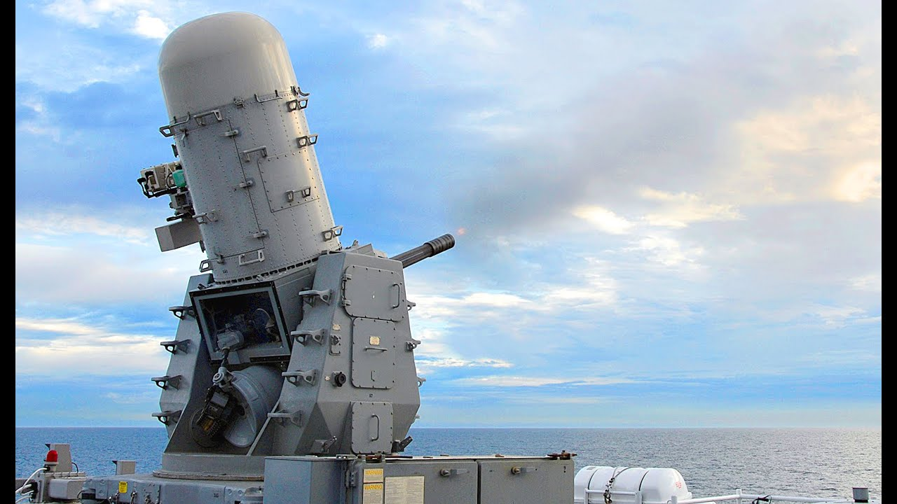 How Powerful is USA 20mm Phalanx CIWS