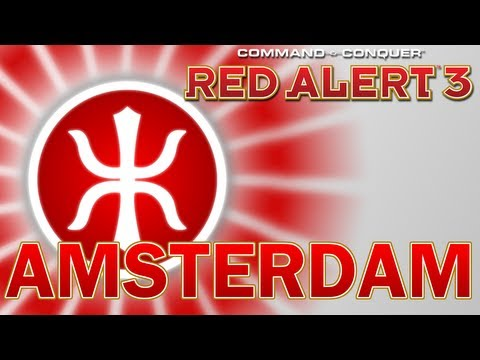 Command & Conquer: Red Alert 3 Co-Op - Empire of the Rising Sun Mission 9, Amsterdam END OF CAMPAIGN