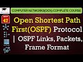 Open Shortest Path First(OSPF) Protocol in Hindi – OSPF Links, Packets, Frame Format
