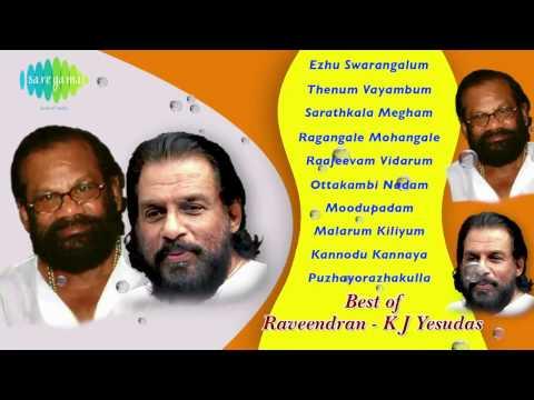 Best  Raveendran KJ Yesudas | Malayalam Movie  Songs | Audio Jukebox