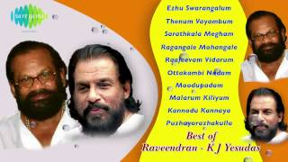 Best  Raveendran KJ Yesudas | Malayalam Movie  Songs | Audio Jukebox