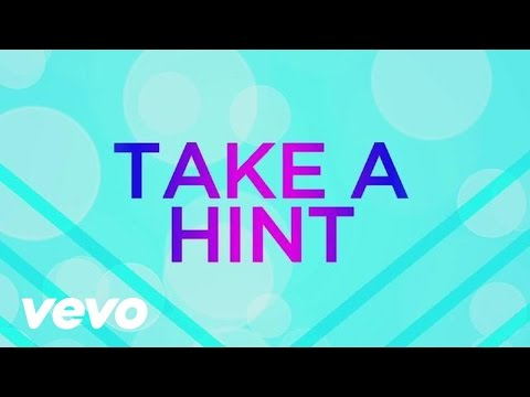 Victorious Cast - Take A Hint (Lyric Video) ft. Victoria Justice, Elizabeth Gillies
