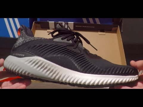 c0f11fd8afb93 Unboxing and On feet Adidas Alphabounce