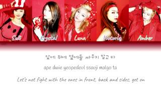 Download f(x) - LA chA TA (라차타) Color Coded Lyrics (Han/Rom/Eng) MP3 song and Music Video