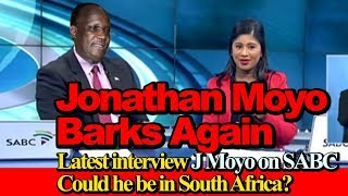 jonathan moyo barks again latest interview on sabc could he be in south africa?