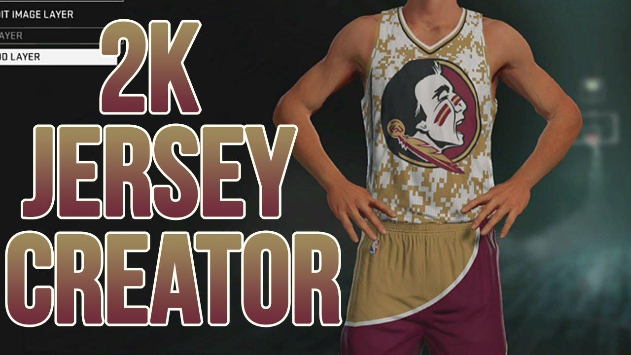 NBA 2K16 | New Jersey Creator! - YouTube