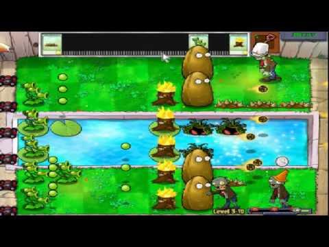 Plants vs zombies (Trồng cây bắn zombie) - Cấp độ 3-10 (Game Việt Hóa)