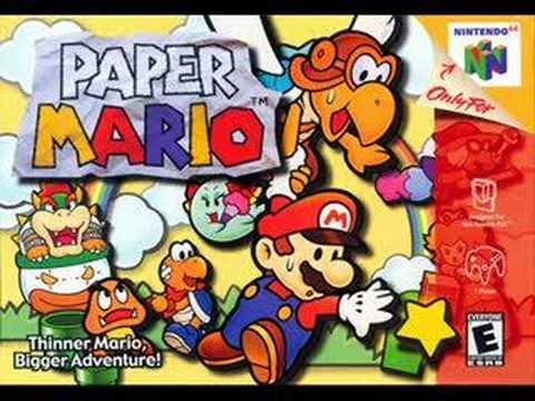 Paper Mario - Raphael the Raven's Theme