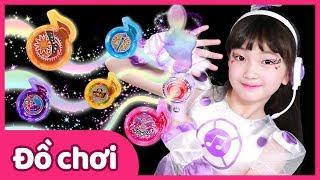 Yuni thành nữ nhân vật chính của Miracle Melody | Đồ chơi | Trò chơi nấu ăn