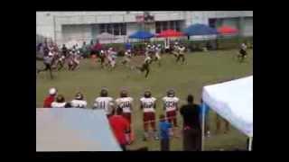 James Cook #4 Pasadena Panthers 140s