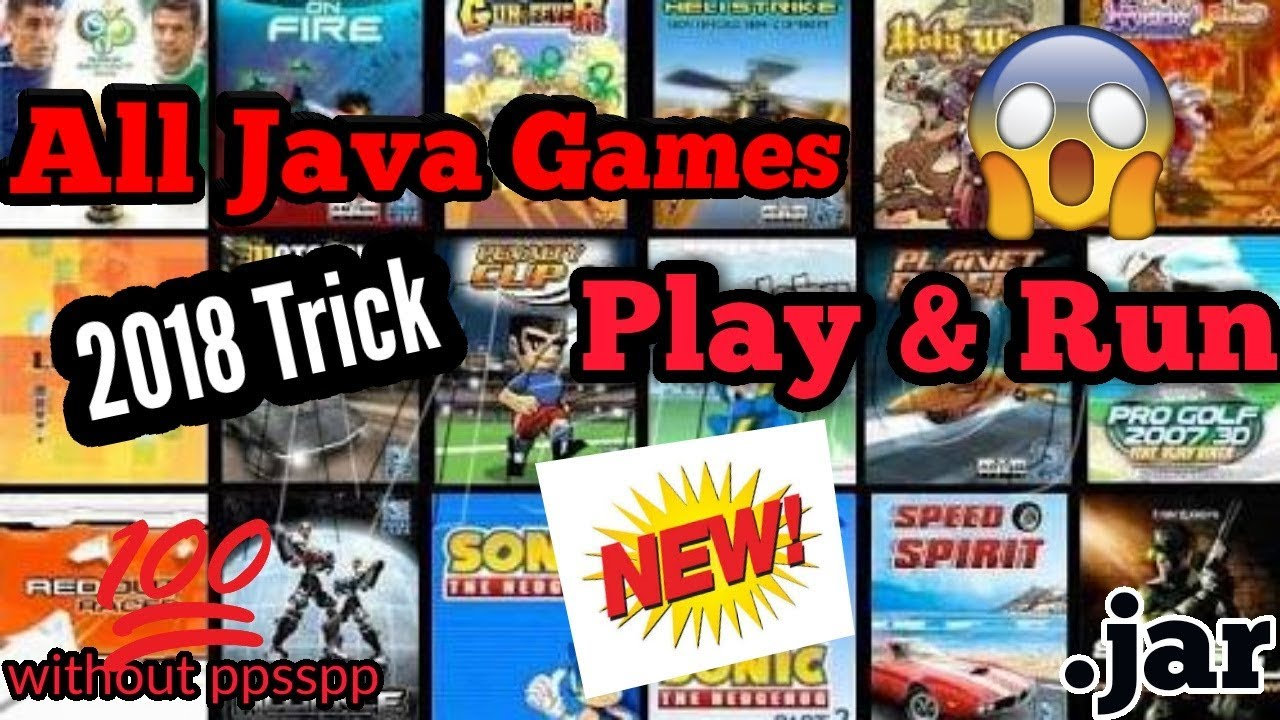 How to Run easily and download All Java Games in any mobile !! with keypad