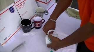 THE BEST LOWEST COST way to SHIP A COFFEE CUP/MUG inexpensively & safely