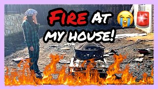 911! FIRE AT MY HOUSE! ALMOST KILLED US & NEIGHBORS!