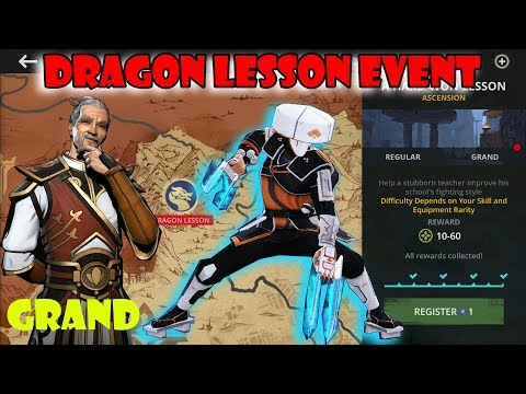Shadow Fight 3 Dragon Lesson Event Returns : Grand - Herald √