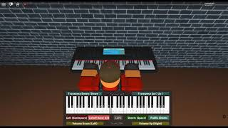 Ave Maria - Classical by: Bach/Gounod on a ROBLOX piano. [Easy]