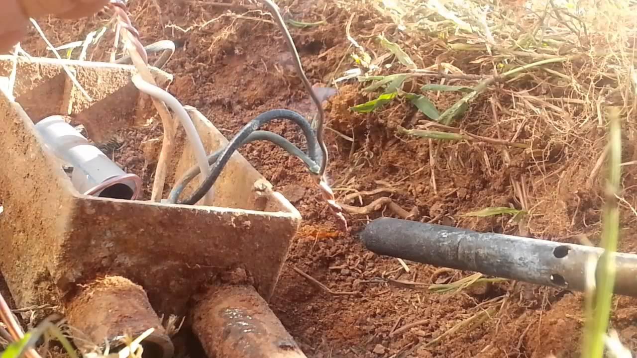 Best Method Under Ground Splice1 Youtube Underground Pipe Buy Flex Wireunderground Electrical