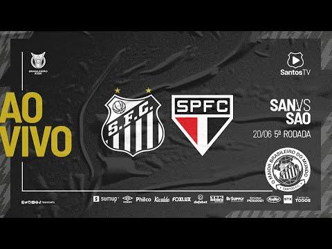 🔴 AO VIVO: SANTOS X SÃO PAULO | BRASILEIRÃO (20/06/21)