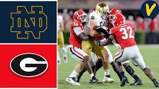NCAAF Week 4 7 Notre Dame vs 3 Georgia College Football Full Game Highlights