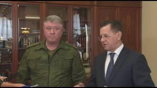 Александр Жилкин навестил раненых бойцов Росгвардии