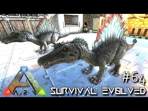 ARK: Survival Evolved - PERFECT BABY SPINO Lvl 202 - Holiday Gifts Pranks ! [Ep 64] (Gameplay)