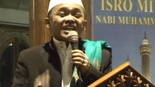 Ceramah KH. Asep Mubarok Cikampek - Peringatan Isra & Mi'raj 2013